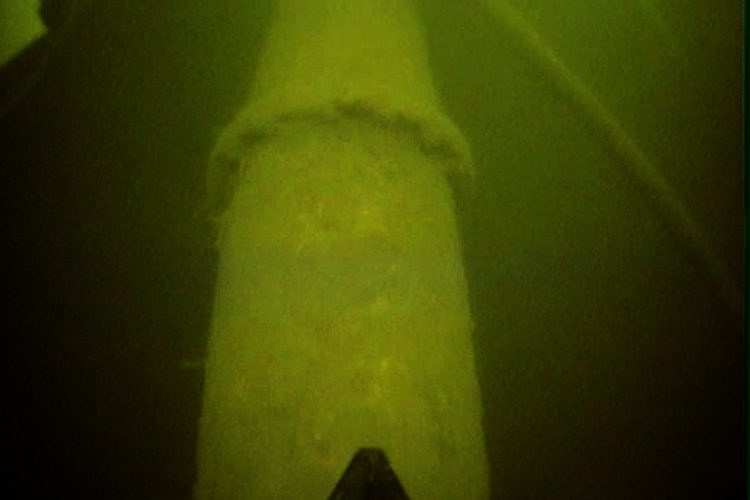 Undervattensinspektion av Vattenledningar, Sjökablar, Kraftstatione, Bropelare, Rörmynningar, Behållare, Dammluckor, Hamnar, Kajer, ackumulatortank, sprinklertank