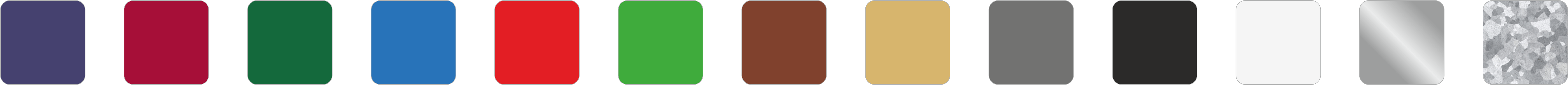 Colores lacados