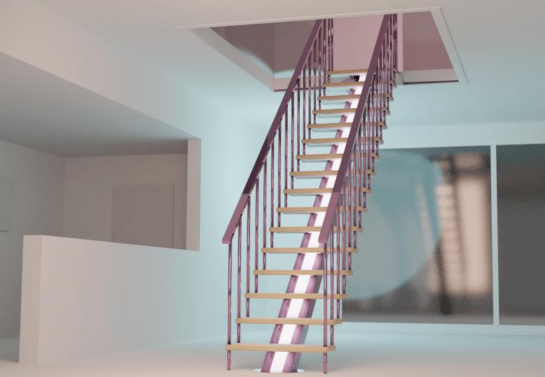 Montaje escalera kit