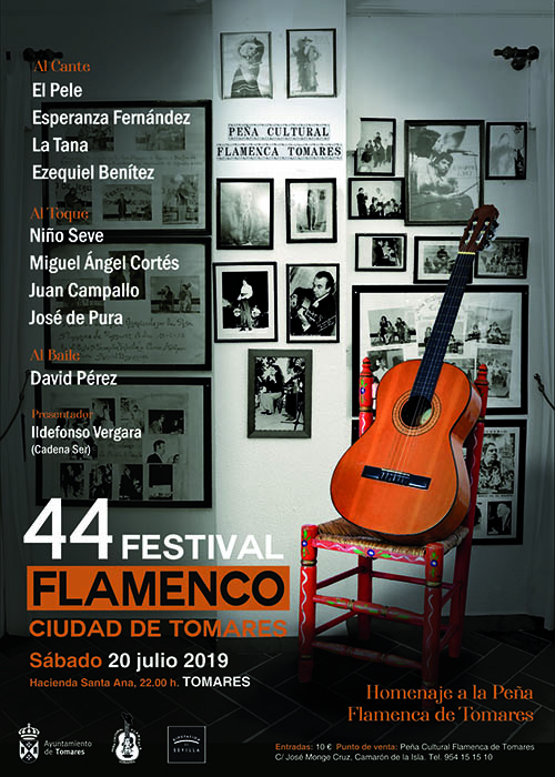 Tomares prepares for the 44th edition of its Flamenco Festival 2
