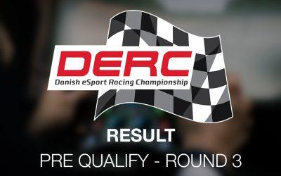 DERC Round 3 – Pre Qualify