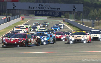 Danish Esport Racing Championship: Actionfyldt sæsonfinale på Spa-Francorchamps