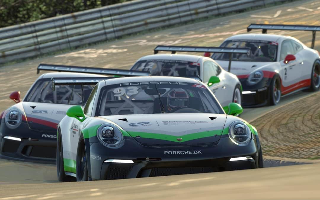 ESR and Porsche Denmark join forces for a new digital motorsport championship