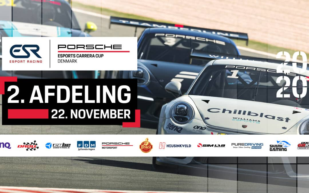 Watch the Porsche Esports Carrera Cup Denmark – Round 2