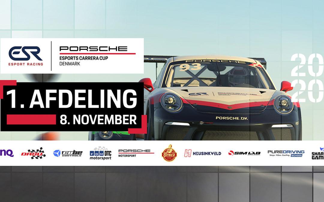 Watch the Porsche Esports Carrera Cup Denmark – Round 1