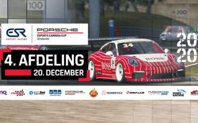 Watch the 4th Round of Porsche Esports Carrera Cup Denmark