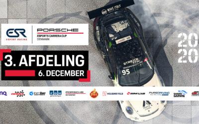 Watch the Porsche Esports Carrera Cup Denmark – Round 3