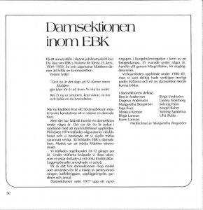 EBK 50 år 1984 Sida 50