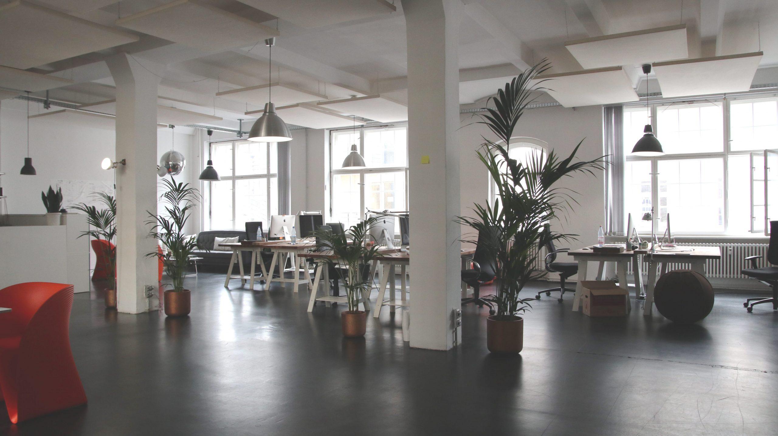Bilde av kontorlokaler