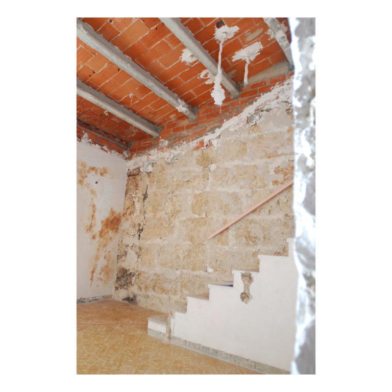 Proyecto reforma integral casa EstudioTinto estado inicial estudio p1