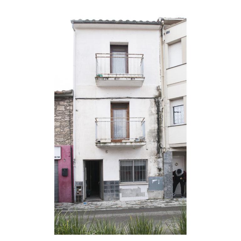 Proyecto reforma integral casa EstudioTinto EstudioTInto - Diseño proyectos arquitectura - estado original fachada calle reforma integral casa centenaria Bañolas Gerona