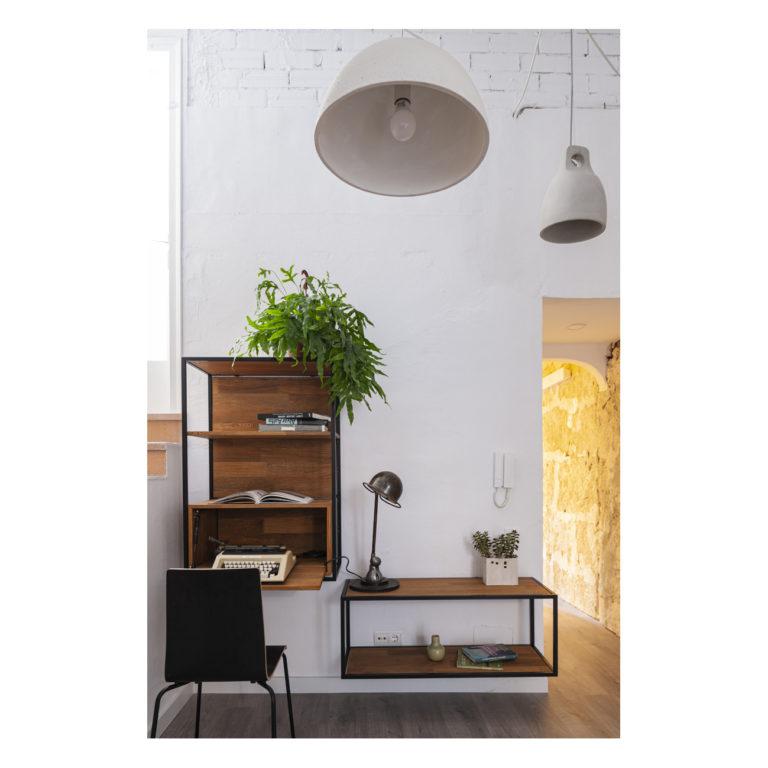 Proyecto reforma integral casa EstudioTInto - Diseño proyectos arquitectura - estudio reforma integral casa entre medianeras Bañolas Gerona
