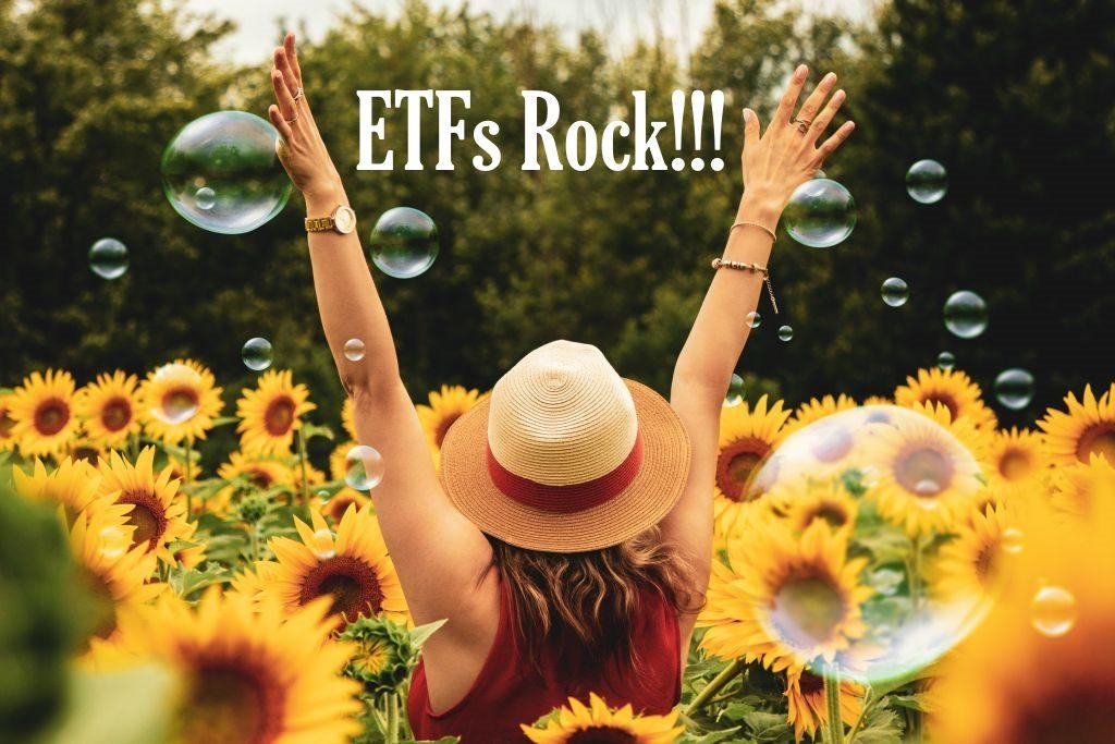 Die Vorteile von ETFs sind überzeugend. Die passiven ETFs schlagen passive Investmentfonds um Längen. Ich bin begeistert und das Bild drückt dies aus.