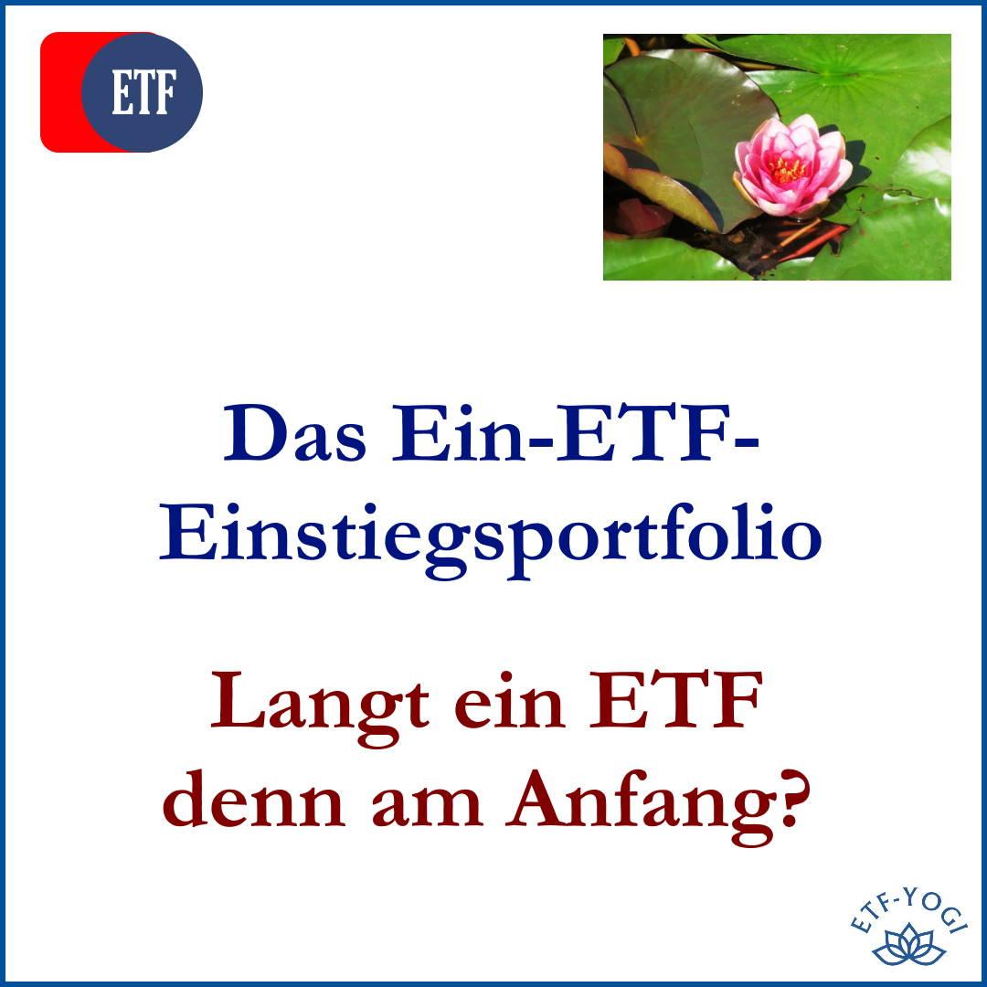 Lotus illustriert das Ein-ETF-Einstiegsportfolio für Draufgänger, Ängstliche oder Raketenwissenschaftler