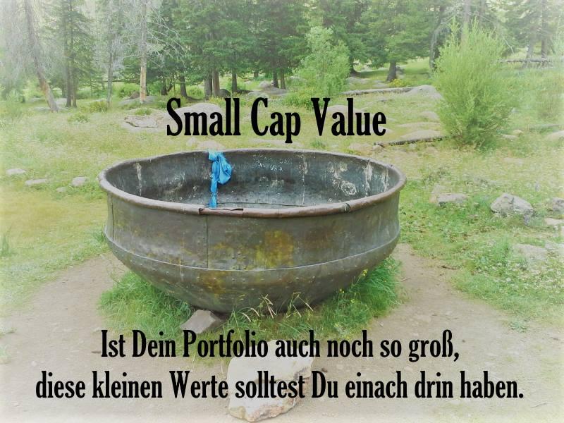 Small Cap Value ETFs bzw. Small Cap Dividend ETFs sind ein Muss fürs Portfolio