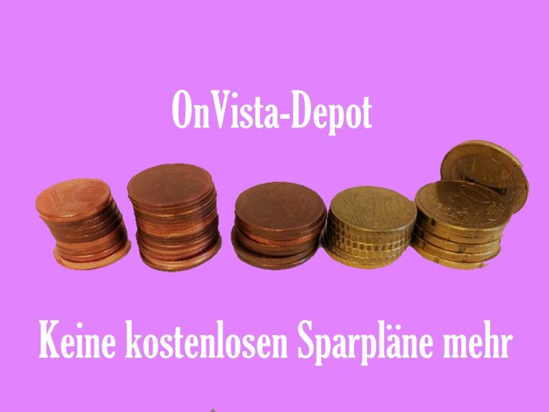 Onvista – keine kostenlosen Sparpläne mehr