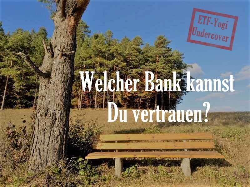 Beratungsgespräch bei der Bank – ETF-Yogi Undercover, Teil 1