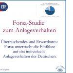 Studie: Anlageverhalten der Deutschen - Sicherheit wichtig