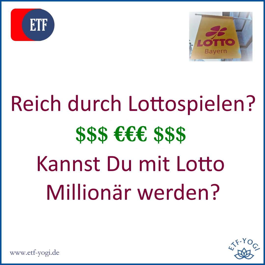 Mit Lotto Millionär werden – Reich durch Lottospielen