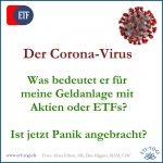 Corona-Virus: Was Aktien-Investoren jetzt tun sollten