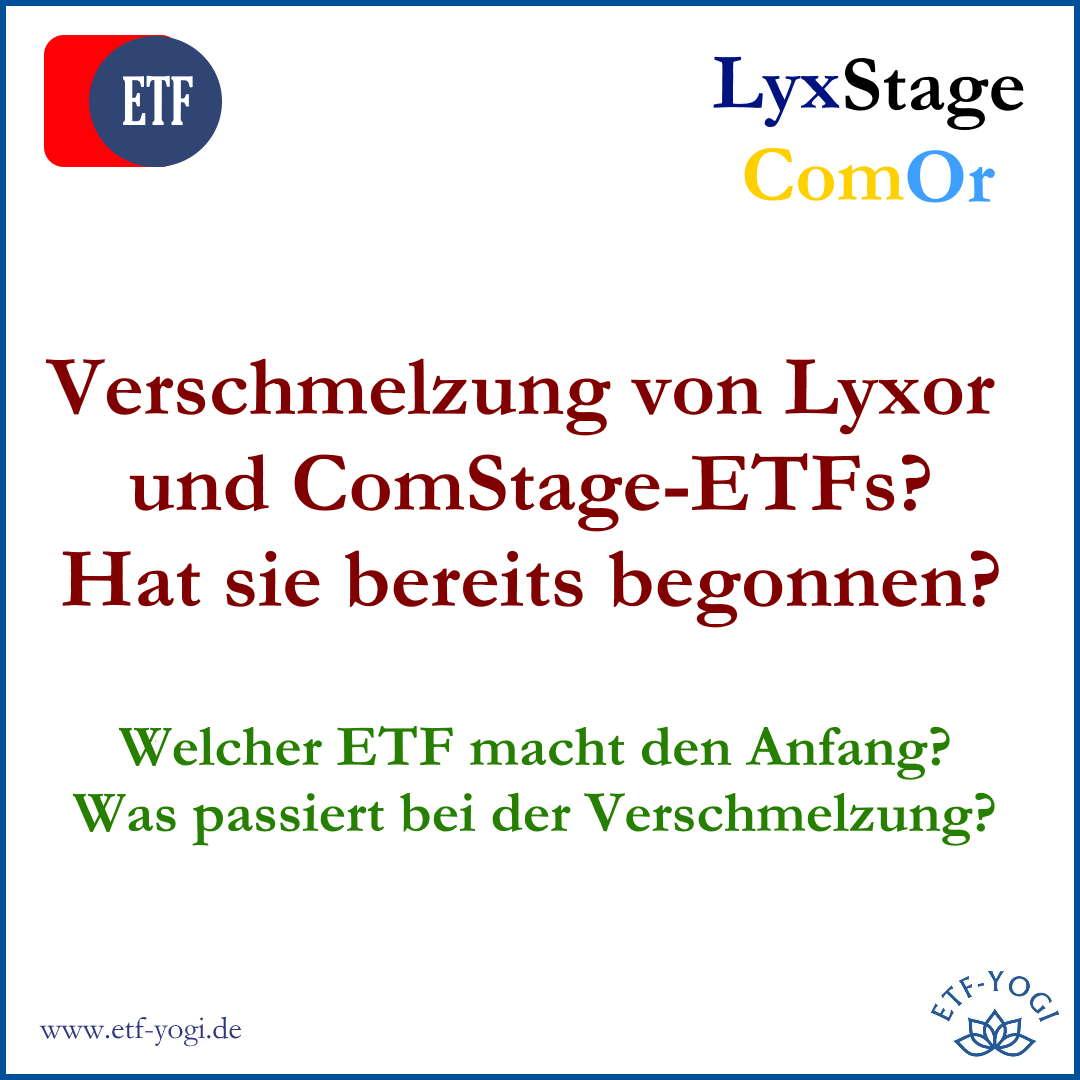 ETF-Verschmelzung von Lyxor und ComStage-ETFs. Macht der Lyxor STOXX Europe 600 Media-ETF den Anfang?
