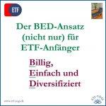 ETF-Anfänger: Mit Einsteiger-ETFs und BED-Ansatz starten