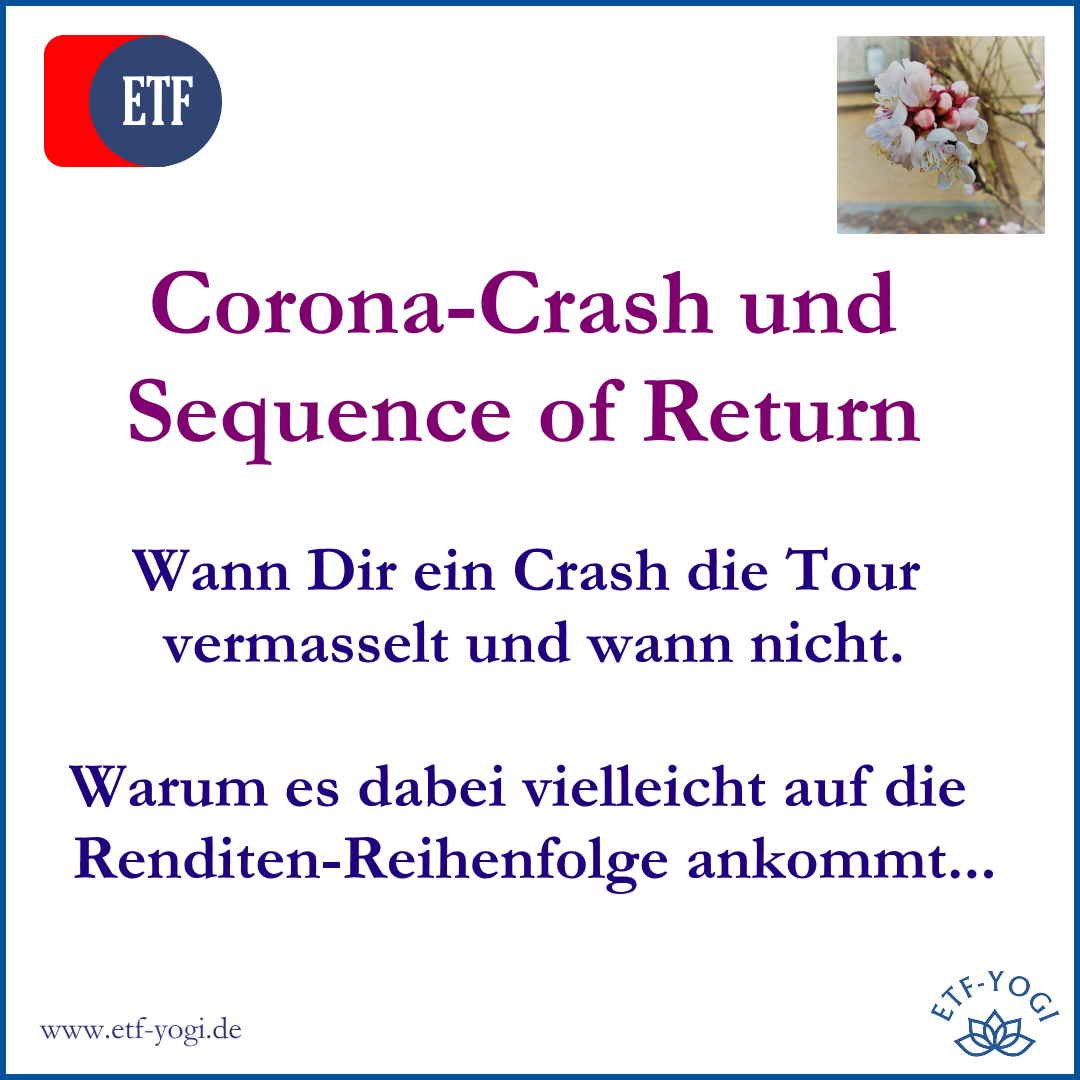 Die Sequence of Return, Dein Depot und der Corona-Crash