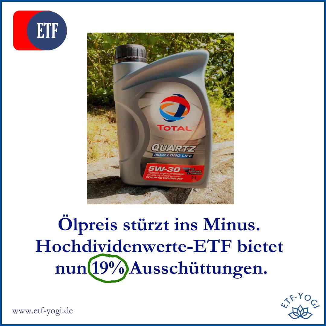 Ölpreis niedrig! Wie kannst Du vom Ölpreissturz mit ETFs profitieren? 2 MLP ETFs. die echte Hochdividendenwerte-ETFs sind.