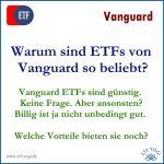 Warum Vanguard ETFs gut  sind: nicht nur niedrige Gebühren
