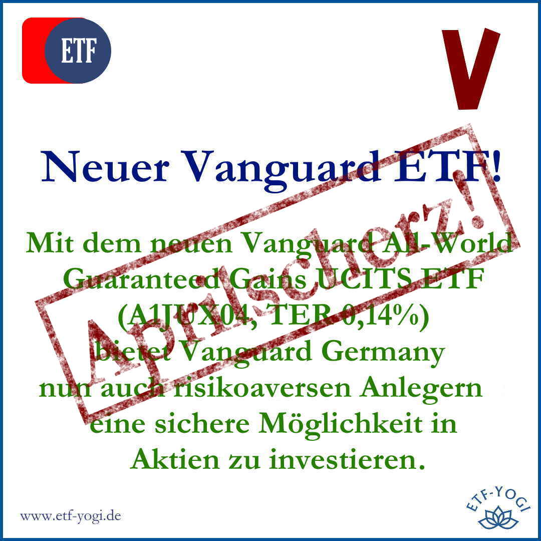 Neuer Vanguard ETF – All World Guaranteed Gains UCITS ETF