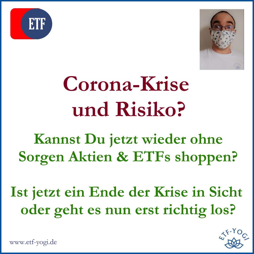 Corona-Krise und Risiko: Jetzt ETFs kaufen?