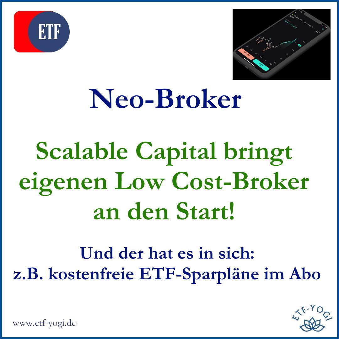 Der Neo-Broker von Scalable Capital: ETF-Sparpläne als Abo