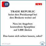 Trade Republic und kostenfreie Aktiensparpläne - BAM!!!