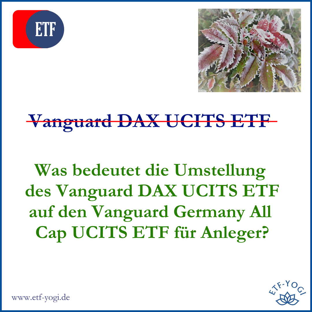 Vanguard Germany All Cap UCITS ETF – Der bessere DAX-ETF?