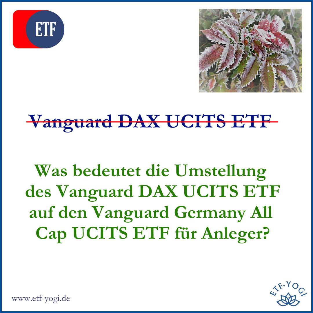Vanguard Germany All Cap UCITS ETF – Der bessere DAX-ETF?