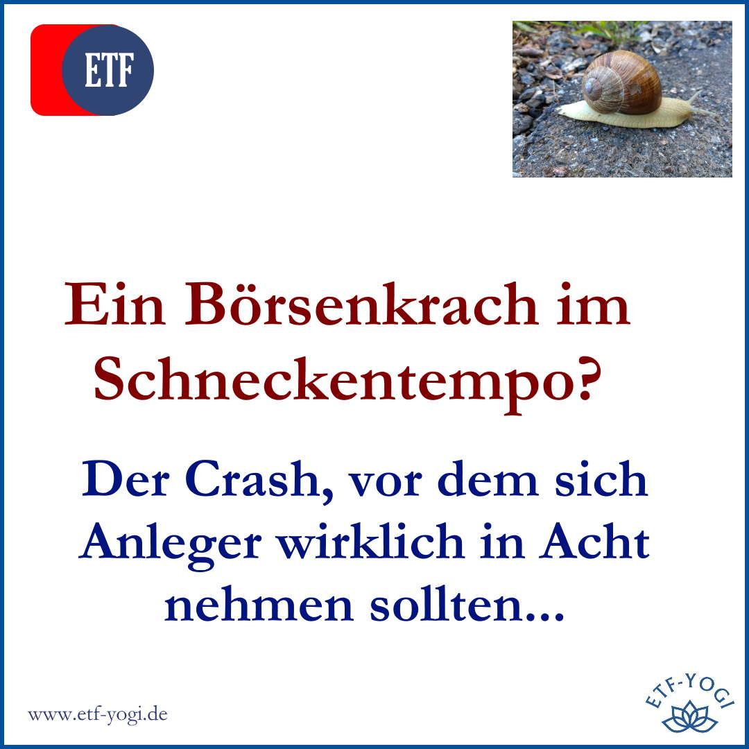 Der langsame Börsenkrach – Ein Crash, der echt Angst macht