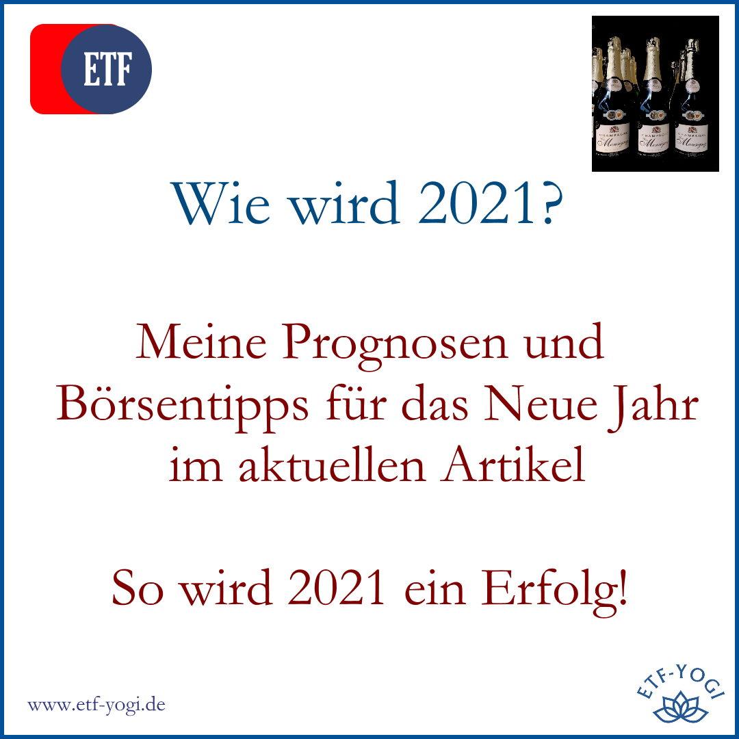 4 Börsentipps für 2021: Meine Prognosen für das Neue Jahr