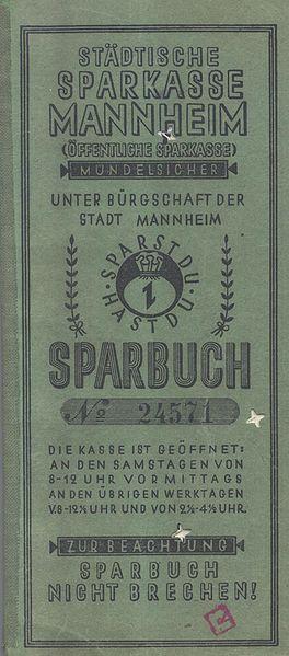 Vom ersten Sparbuch der Sparkasse Mannheim zum Bitcoin-Sparbuch