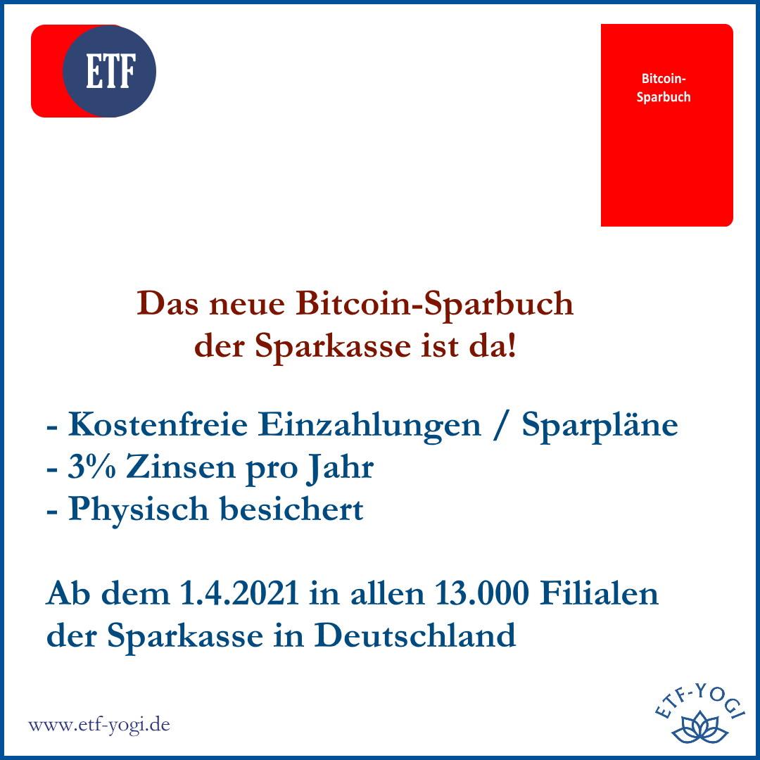 Das Bitcoin-Sparbuch der Sparkasse: Kryptowährung für Alle?