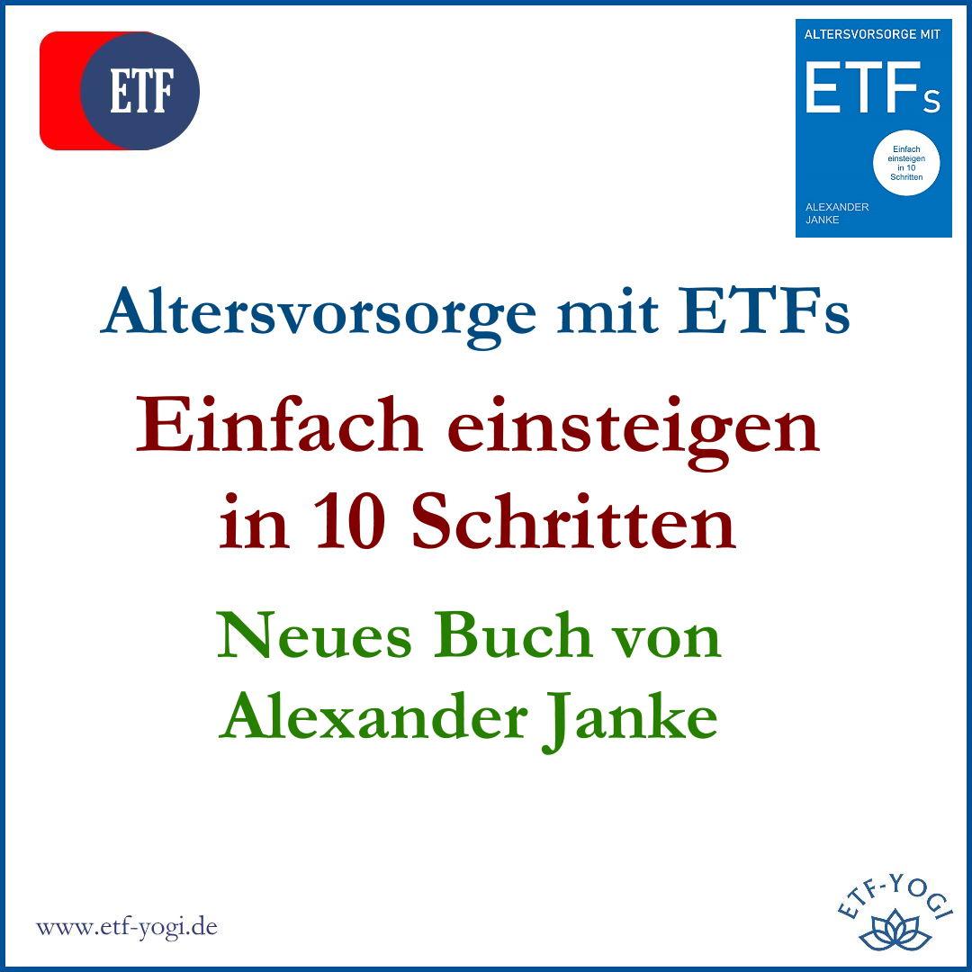 Neues Buch: Altersvorsorge mit ETFs – Alexander Janke