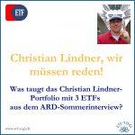 Christian Lindner-Portfolio: 3 ETFs sind (k)eine gute Anlageidee?