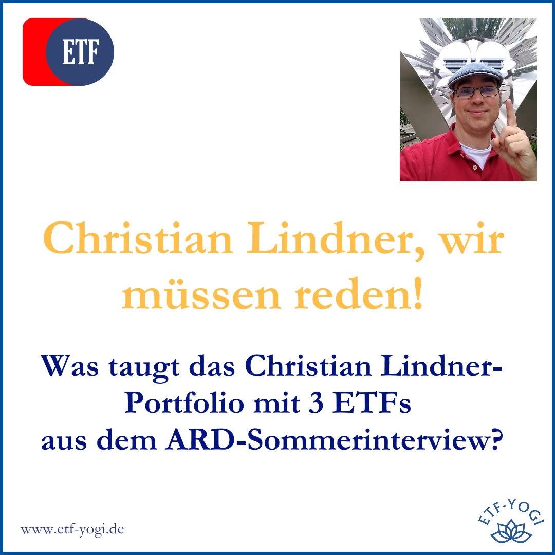 Christian Lindner-Portfolio: 3 ETFs sind (k)eine gute Anlageidee? 1