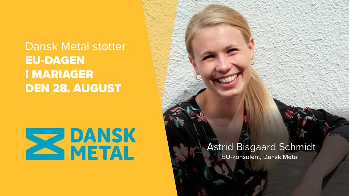 Dansk Metal støtter op om vigtigheden i at tage EU-debatten i fællesskab