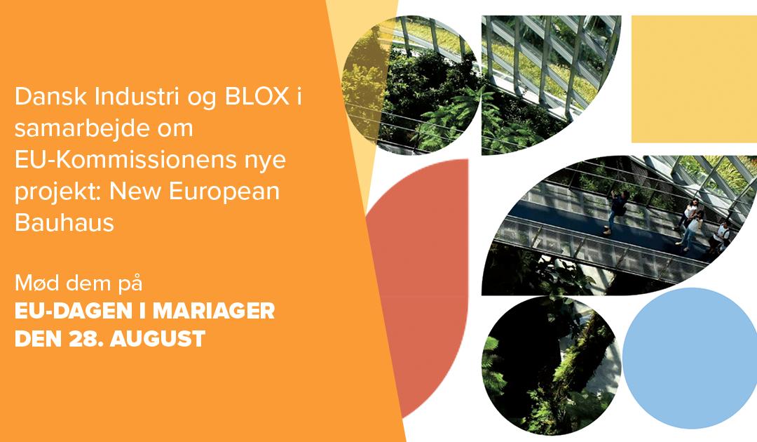 Hjælp Dansk Industri og Blox med at designe Europas bæredygtige fremtid – Danmark skal vise resten af Europa, hvordan vi laver grøn omstilling