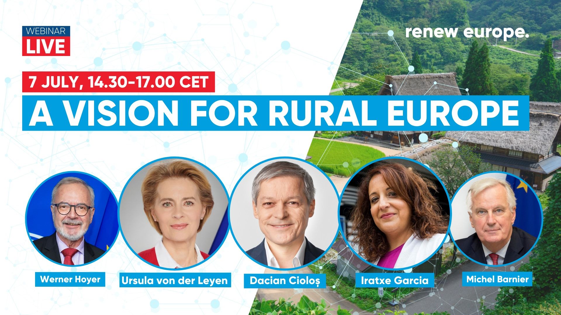7th July, 14:30 A vision for rural Europe