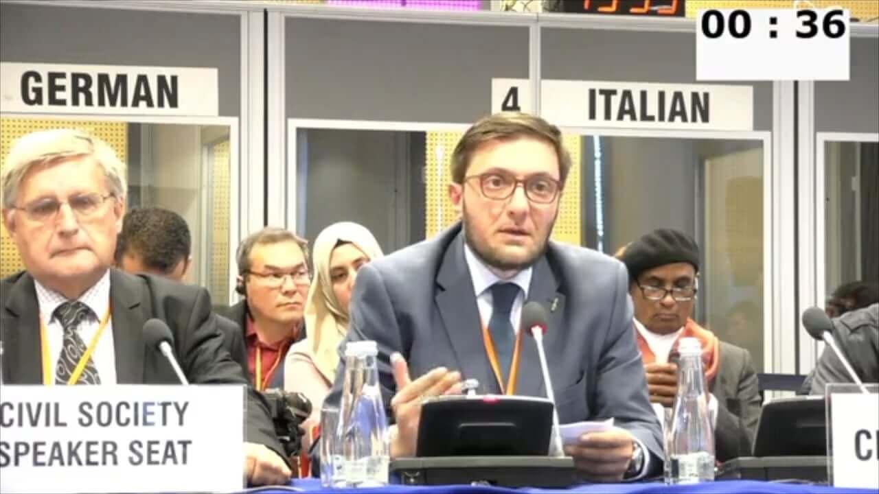Alessandro Amicarelli at OSCE