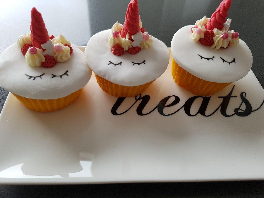 unicorn cupcakes homemade