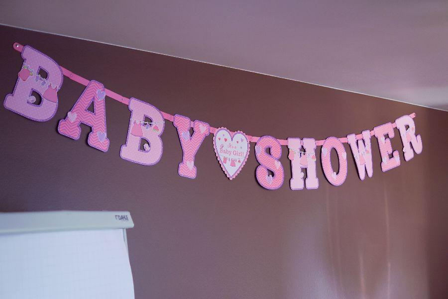babyshower versiering