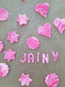 birthday party cupcakes: rolfondant I verjaardag cupcakes