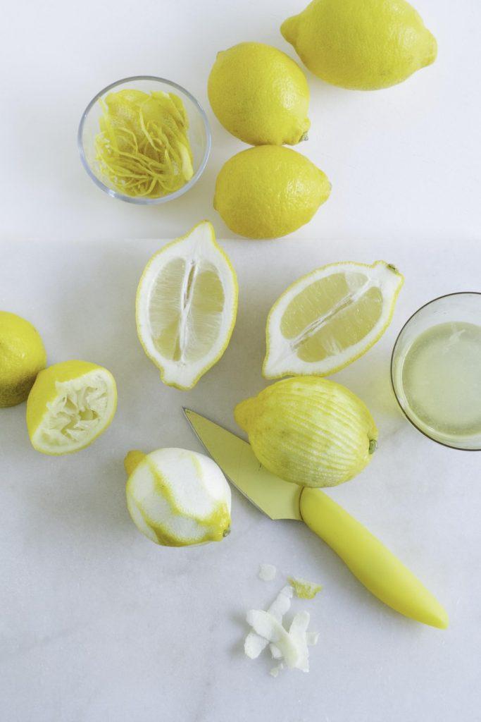 verschillende citroenen